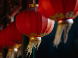 Traditional Lanterns in Corridor of Prince Gong's Residence Bejing  China