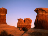 Rock Formations in Devil's Garden  Grand Staircase-Escalante National Monument  Utah  USA