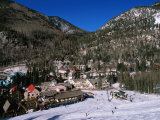 Resort Centre and Main Base of Taos Ski Valley  Taos  New Mexico  USA