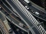 Aerial View of Freeway Tokyo  Kanto  Japan