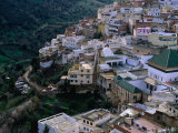 Exterior of Mausoleum and Other Buildings  Moulay Idriss  Morocco