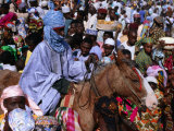 Regiment on Horseback During Durbar Festival of Kano  Kano  Nigeria