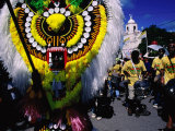 Colourful Costumes at the Ati-Aihan Festival  Kalibo  Aklan  Philippines
