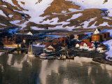 The Now Abandoned Grytviken Whaling Station in King Edward Point  Antarctica