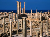 The Ancient City of Sabratha and the Temple of Liber Pater  Sabratha  Libya