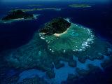 Aerial View of Melanesian Islands