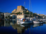 The Harbour and Citadel  Bonifacio  Corsica  France