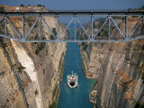 Corinth Canal  Peloponnesos  Greece