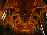 Gothic Chamber of Bruges Town Hall  Bruges  Belgium