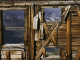 An Old Miners Shack with a View of the San Juan Mountains