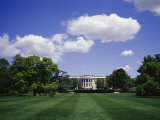 The White House on a Sunny Day
