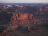 Scenic Rock Formations Photographed at Canyonlands National Park