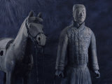 Terra-Cotta Army near 2 200-year-old Tomb of China's 1st Emperor  Qin Shi Huang  near City of Xian