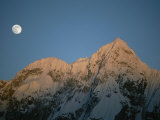 Moonrise over Charakusa Valley  Karakoram  Pakistan
