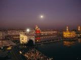 Night View of Amritsar
