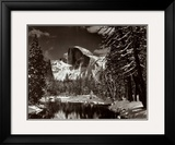 Half Dome  Merced River  Winter