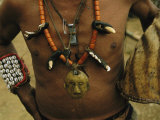 A Naga Shaman Adorned with Talismans and Other Jewelry