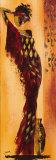 Femme Gazelle I Reproduction d'art par Johanna