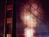 Golden Gate Bridge Celebration Marking the 50Th Anniversary of its Opening