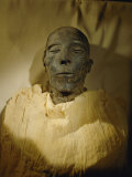 Mummy of Merenptah in the Cairo Museum