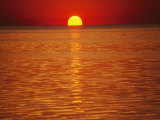 The Sun Sinks into Pamlico Sound