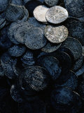 Ancient Coins from Shetland Islands Shipwreck