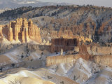 Panoramic View over Bryce Canyon National Park in Winter