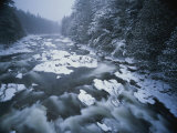 Winter View of the Ausable River