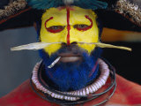An Informal Portrait of a Huli Wigman