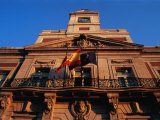 Casa De Correos  Built as a Post Office in 1768  on Puerta Del Sol  Madrid  Spain