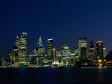 A View Across Sydney Harbour of the City Skyline