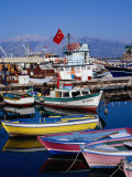 Fishing Boats in Harbour  Antalya  Antalya  Turkey