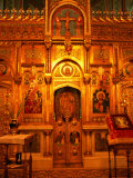 Interior Artworks of Episcopal Church  or the Monastery of Curtea De Arges  Romania