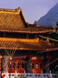 Po Lin Monastery  Lantau Island  Hong Kong  China