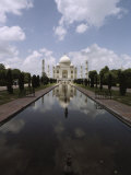 The Taj Mahal in Agra  the Final Resting Place of Shah Jahan  Fifth Mogul Emperor of India