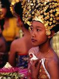Dance Practice at the Palace in Ubud  Ubud  Indonesia