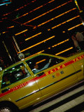 Taxi in Shinjuku's Red Light District  Tokyo  Kanto  Japan