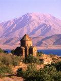 Akdamar Church and Van Lake  Van  Turkey