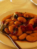 Plate of Gigantes (Giant Beans)  Athens  Attica  Greece