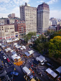 Farmers' Market on Union Square  New York City  New York  USA