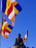 World's Tallest Outdoor Brone Buddha on Ngong Ping Plateau  Po Lin Monastery  Hong Kong  China