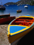 Boat Ashore in Port Elizabeth  Admiralty Bay  St Vincent & the Grenadines