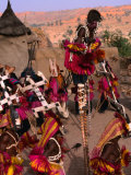 Traditional Dogon Ceremony Associated with the Finish of the Harvest  Tirelli  Mali