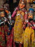 Rajasthani Puppets for Sale in Street Stall  Jaipur  India