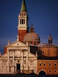 Exterior of Chiesa Di San Giorgio Maggiore  Venice  Italy