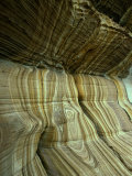 "Rock Formation ""Painted Cliffs "" Maria Island  Tasmania  Australia"