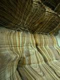 "Rock Formation ""Painted Cliffs "" Maria Island  Tasmania  Australia"