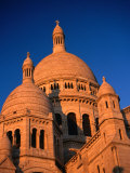 Domes of Sacre-Coeur Basilica  Paris  France