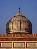 Dome of Jama Masjid  Delhi  India