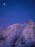 Moonrise over Mount Blanc De Cheilon  3870 Meters